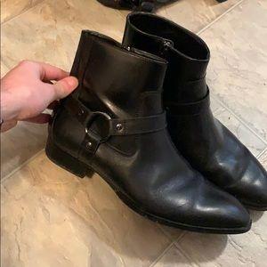 Steve Madden men's black boots